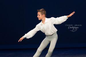 Rentrée à l'Ecole de l'Opéra de Paris Corentin Dournes