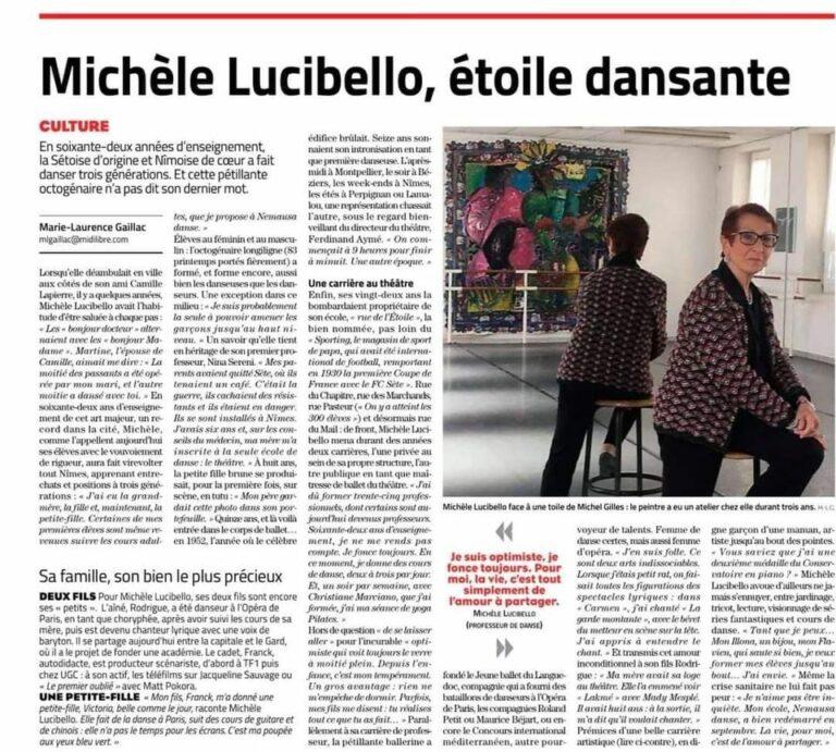 Michèle Lucibello, Étoile dansante
