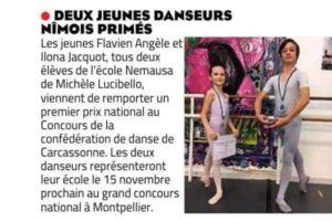 Concours de la confédération de danse de Carcassonne 2020