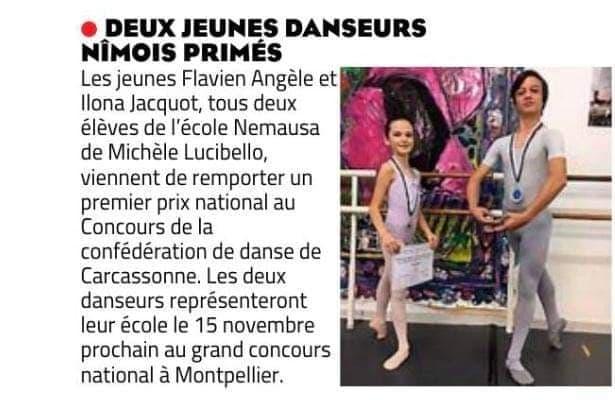 Read more about the article Concours de la confédération de danse de Carcassonne 2020