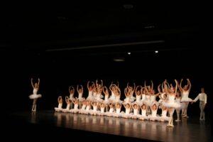 Ballet classique avec l'ensemble des classes